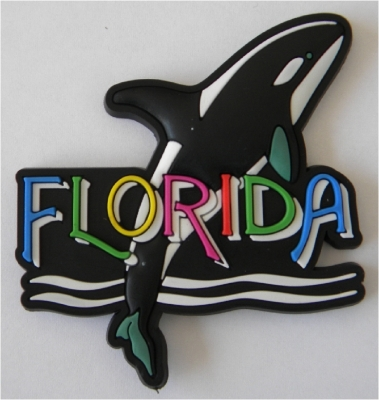PVC Magnet - Orca Design (Florida Only)