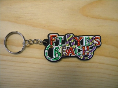PVC Keychain - Ft. Myers Beach