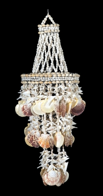 C-193 - Shell Chandelier with Pecten