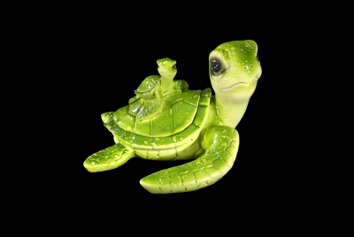 1590 - Turtle Trinket Box