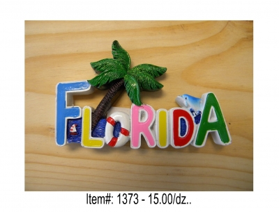 Florida Resin Magnet
