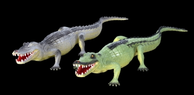 1652 - PVC Alligator 16 inches. Two Assorted Colors