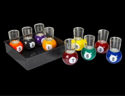 1715 - Billiard Ball Shot Glasses