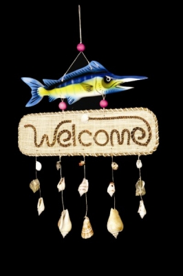 Swordfish Welcome Sign