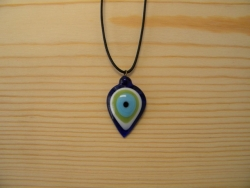 N-8376 - Evil Eye Pendant Necklace
