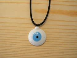 N-8381 - Evil Eye Pendant Necklace